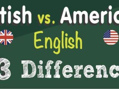 63 differenze tra l'inglese e l'americano